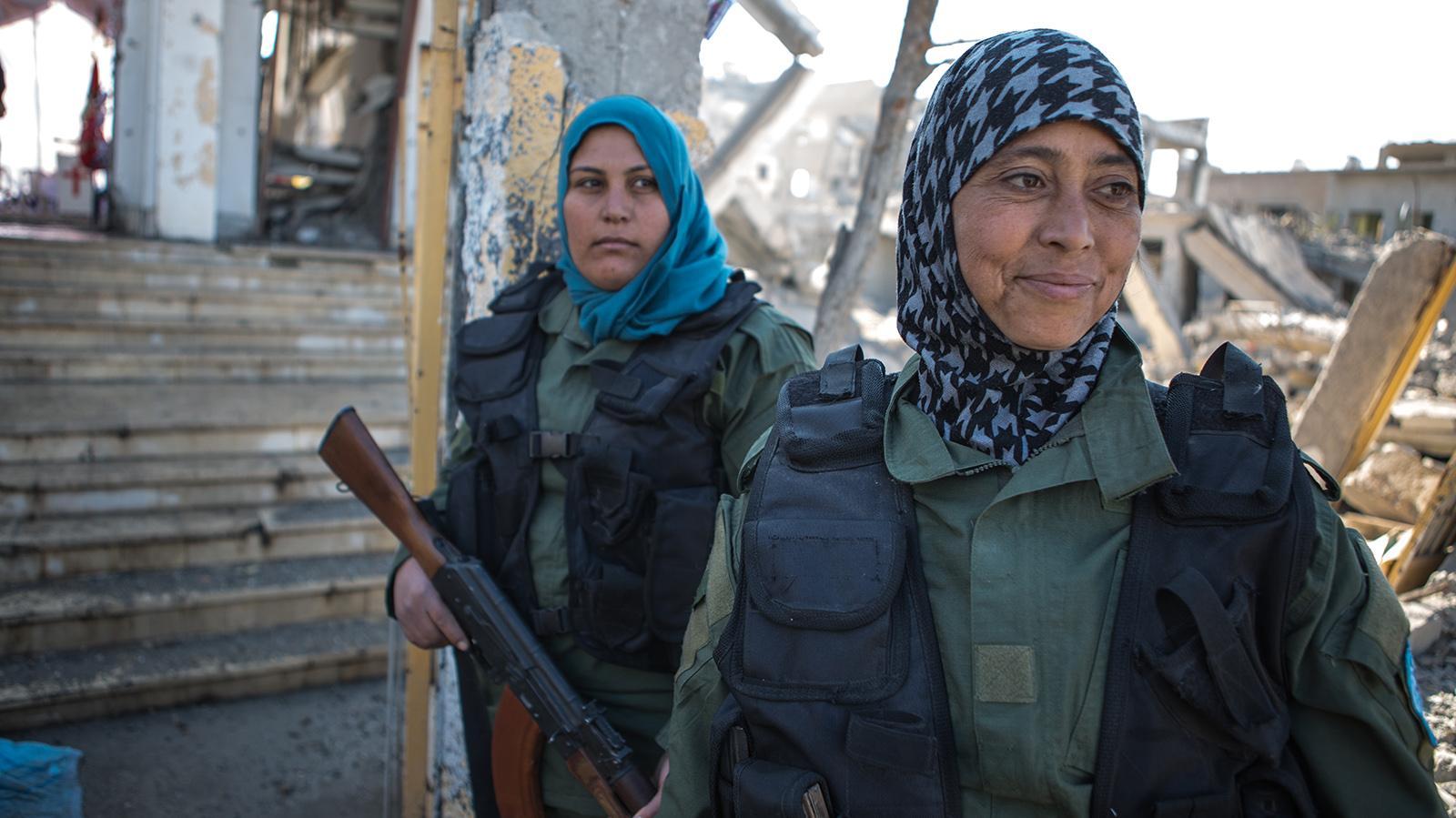Život v Rakká dva měsíce po osvobození od IS