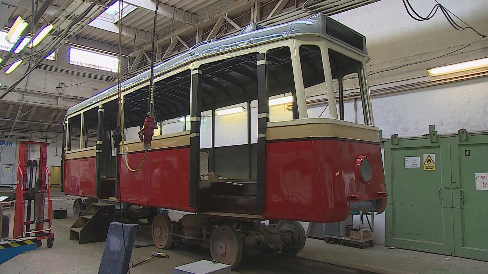 Historická tramvaj 4MT