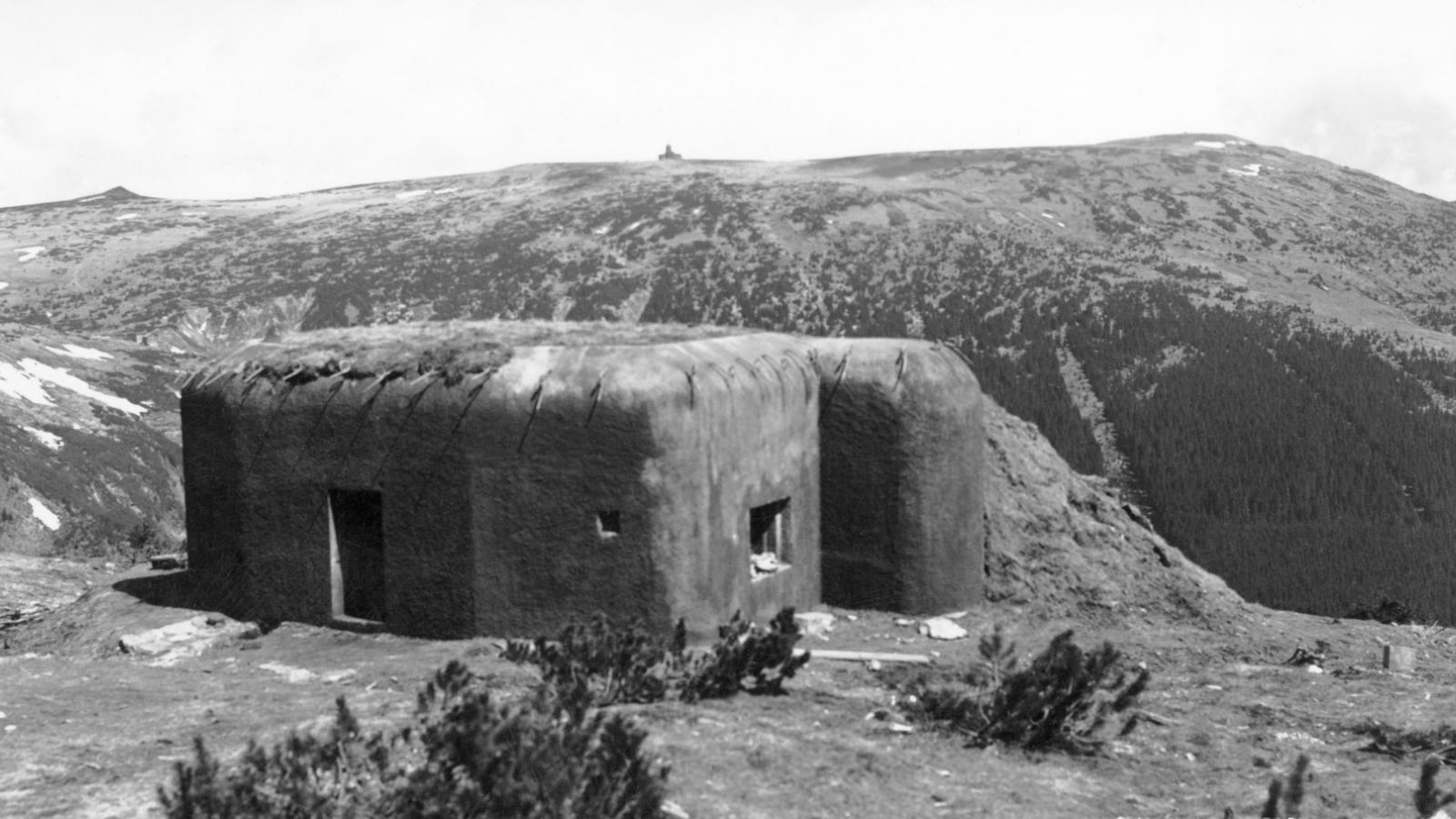 Bunkr v roce 1938