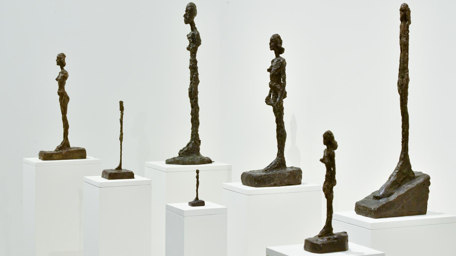 Retrospektivní výstava Alberta Giacomettiho v Praze
