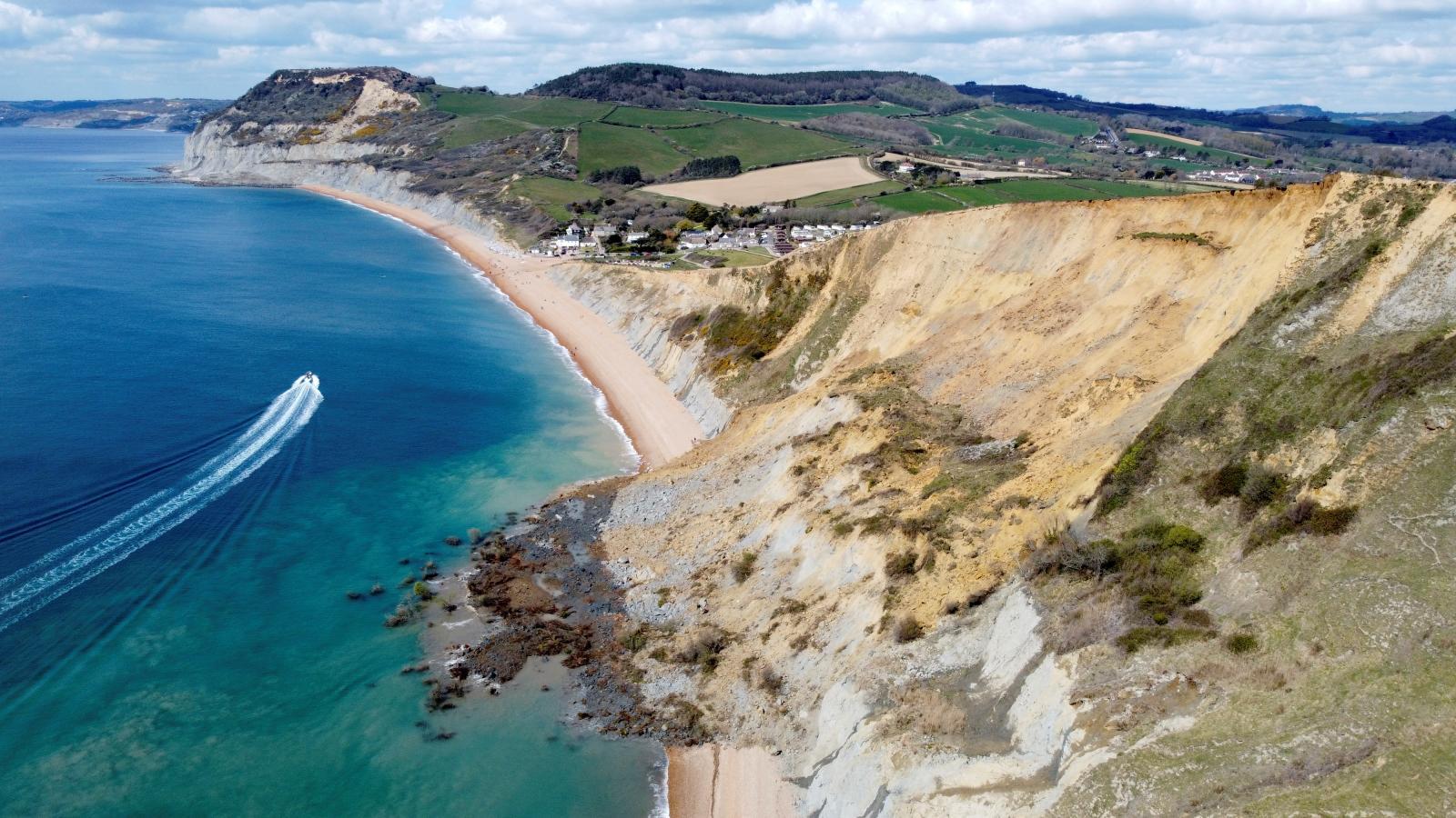 Přírodní dědictví v hrabství Dorset. Jurské pobřeží