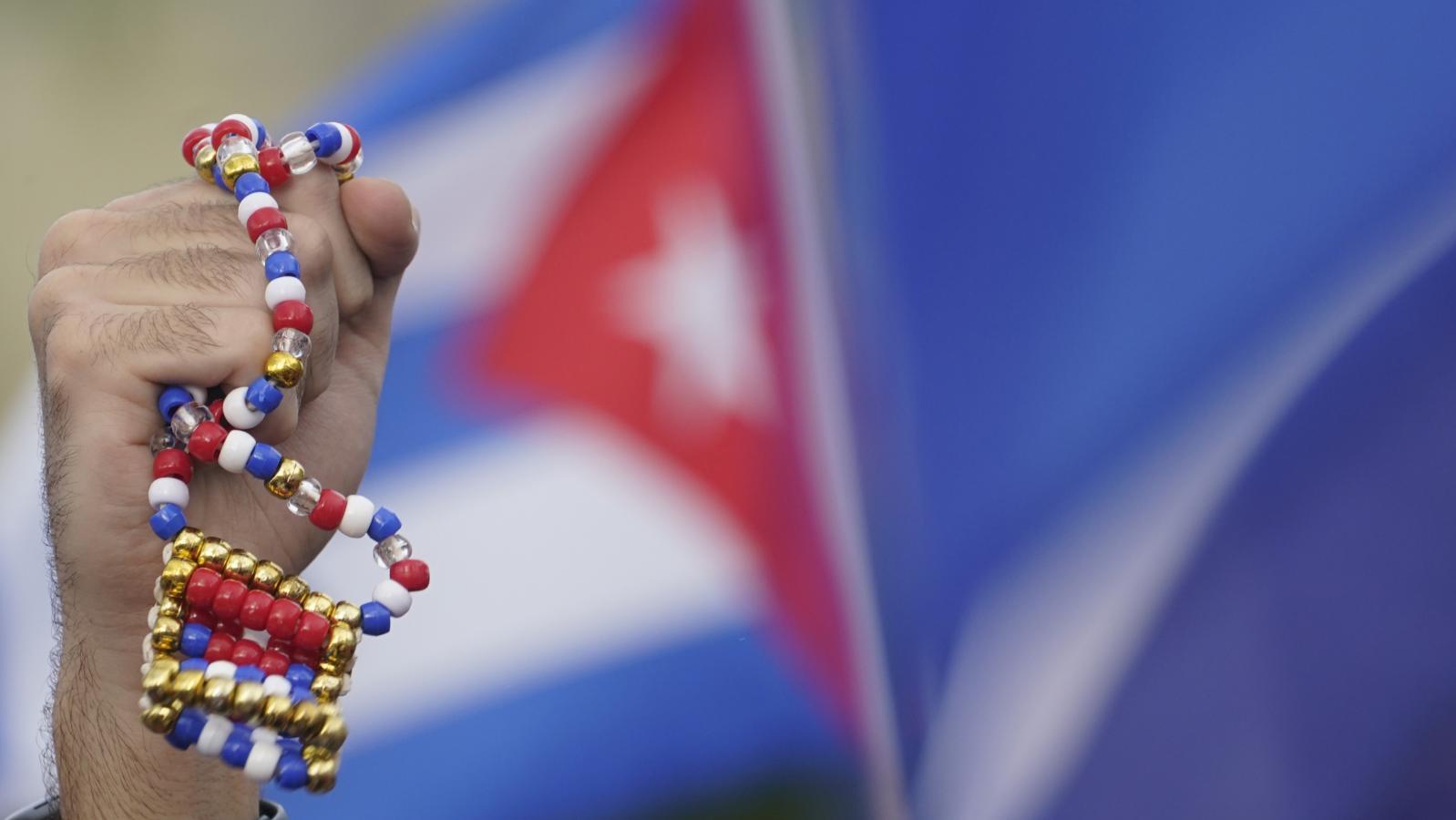 Protesty proti kubánské vládě