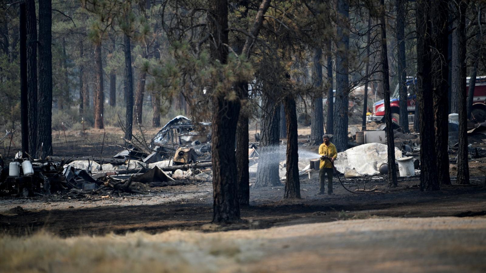 Požáry v Oregonu