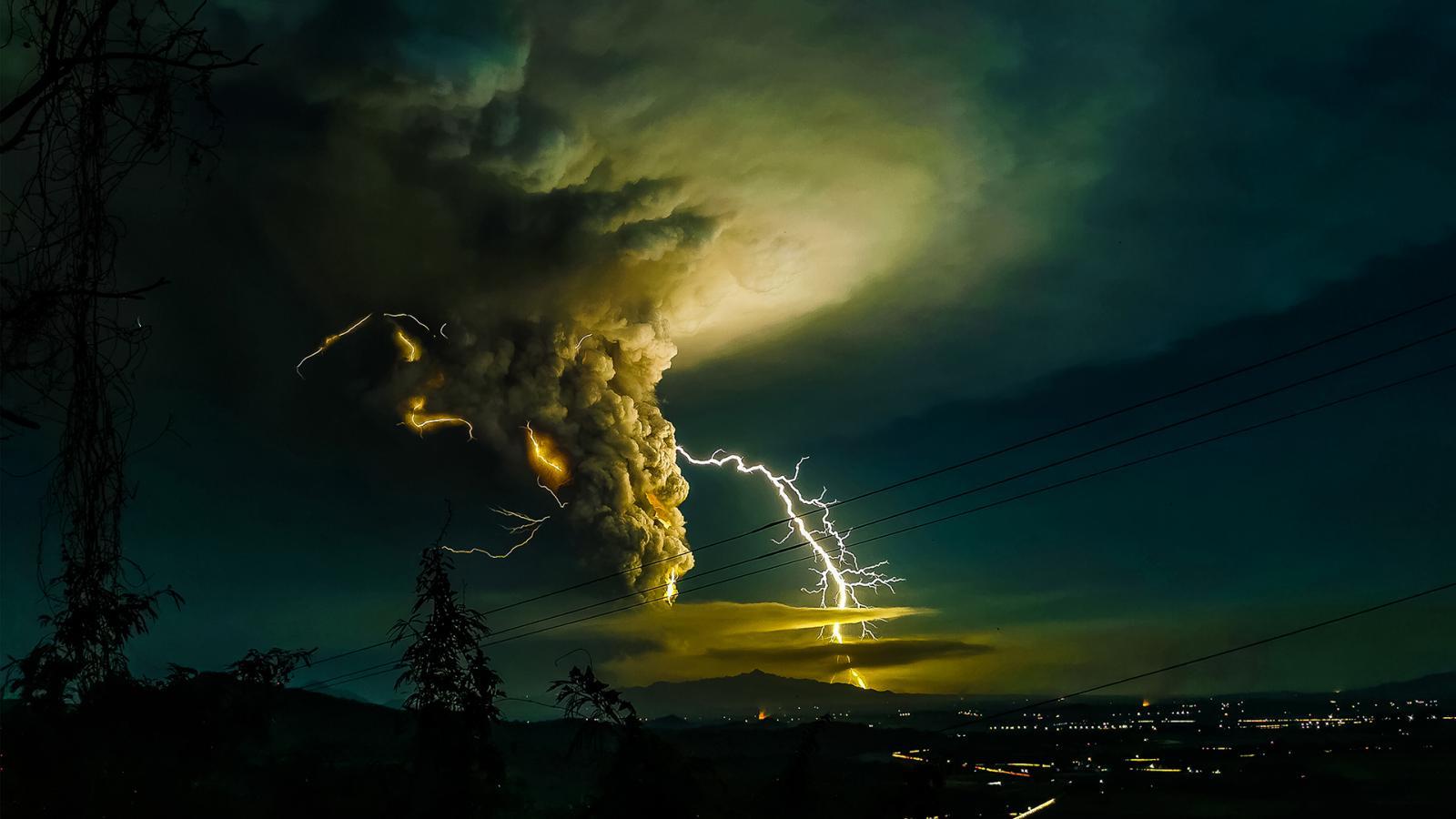 Snímek oceněný Světovou meteorologickou organizací