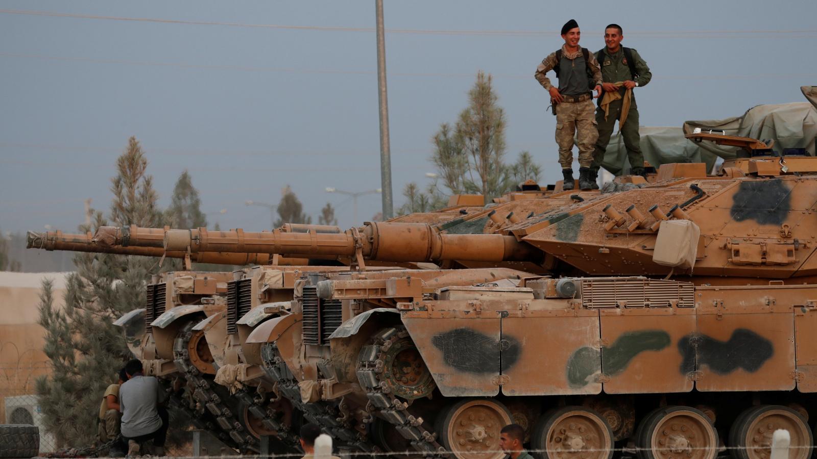 Turecká operace v Sýrii