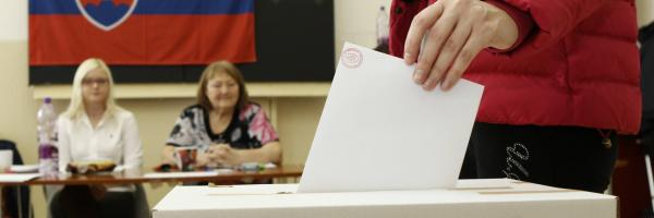 Slovensko volí parlament