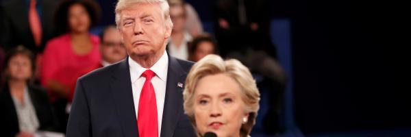 Druhý televizní střet Trumpa s Clintonovou