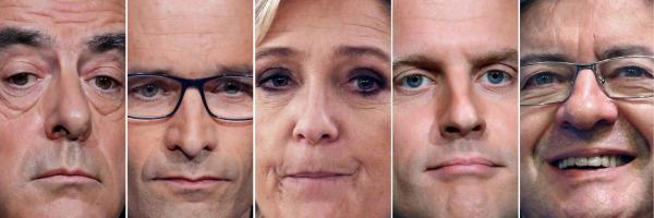 Kandidáti francouzských voleb