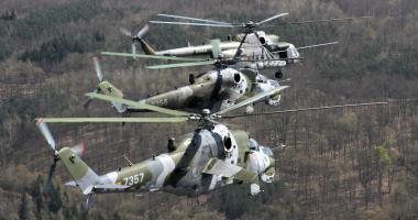 Vrtulníky české armády