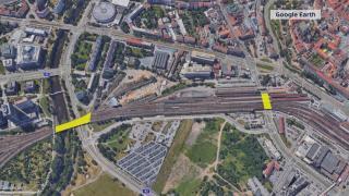 Železniční dopravu omezí i oprava dvou mostů