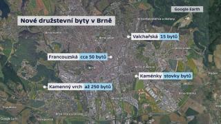 Nové družstevní byty v Brně