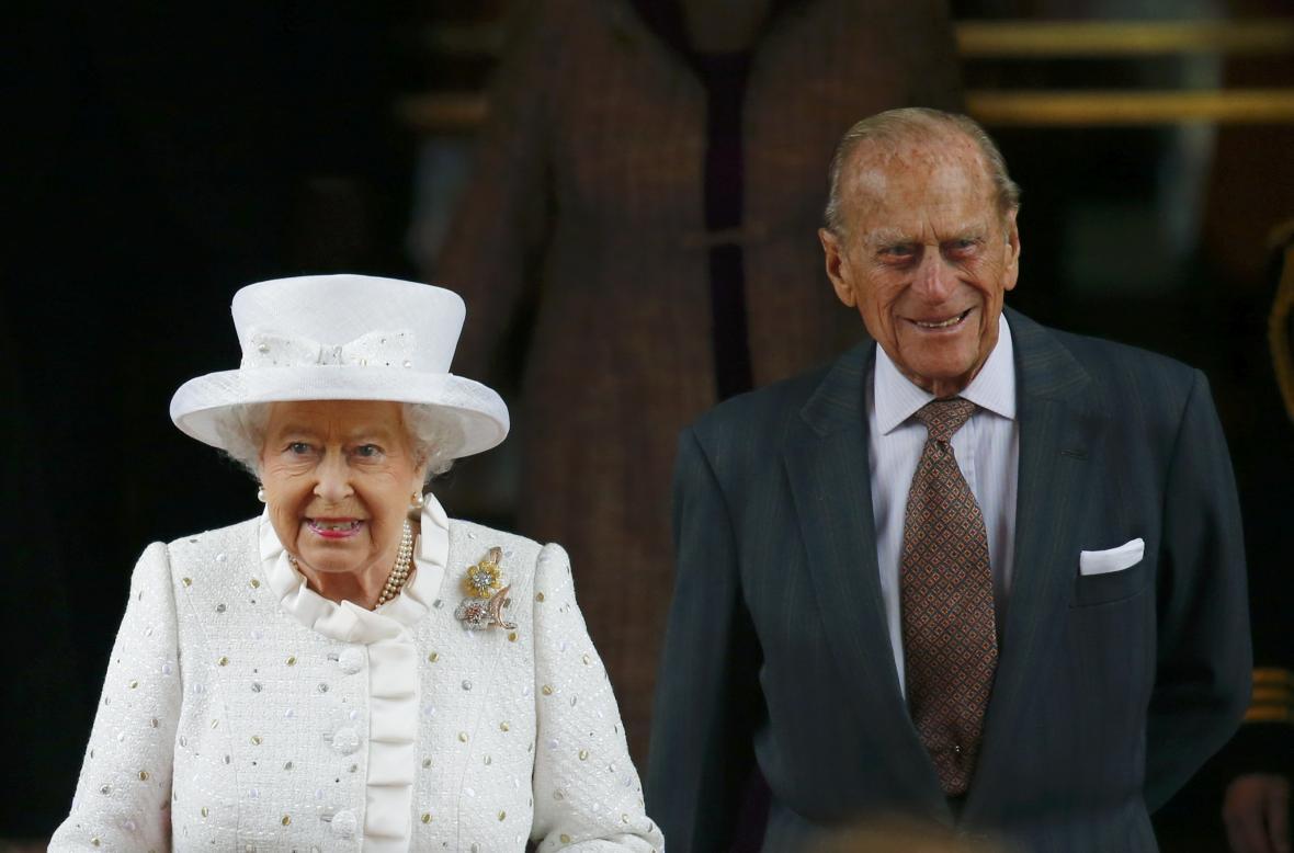 Britská královna Alžběta