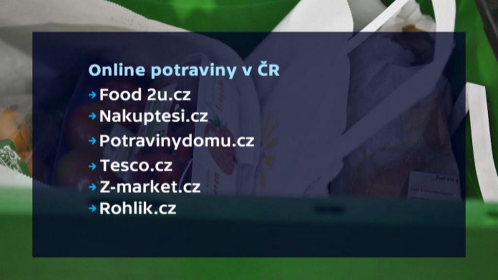 Online potraviny v ČR