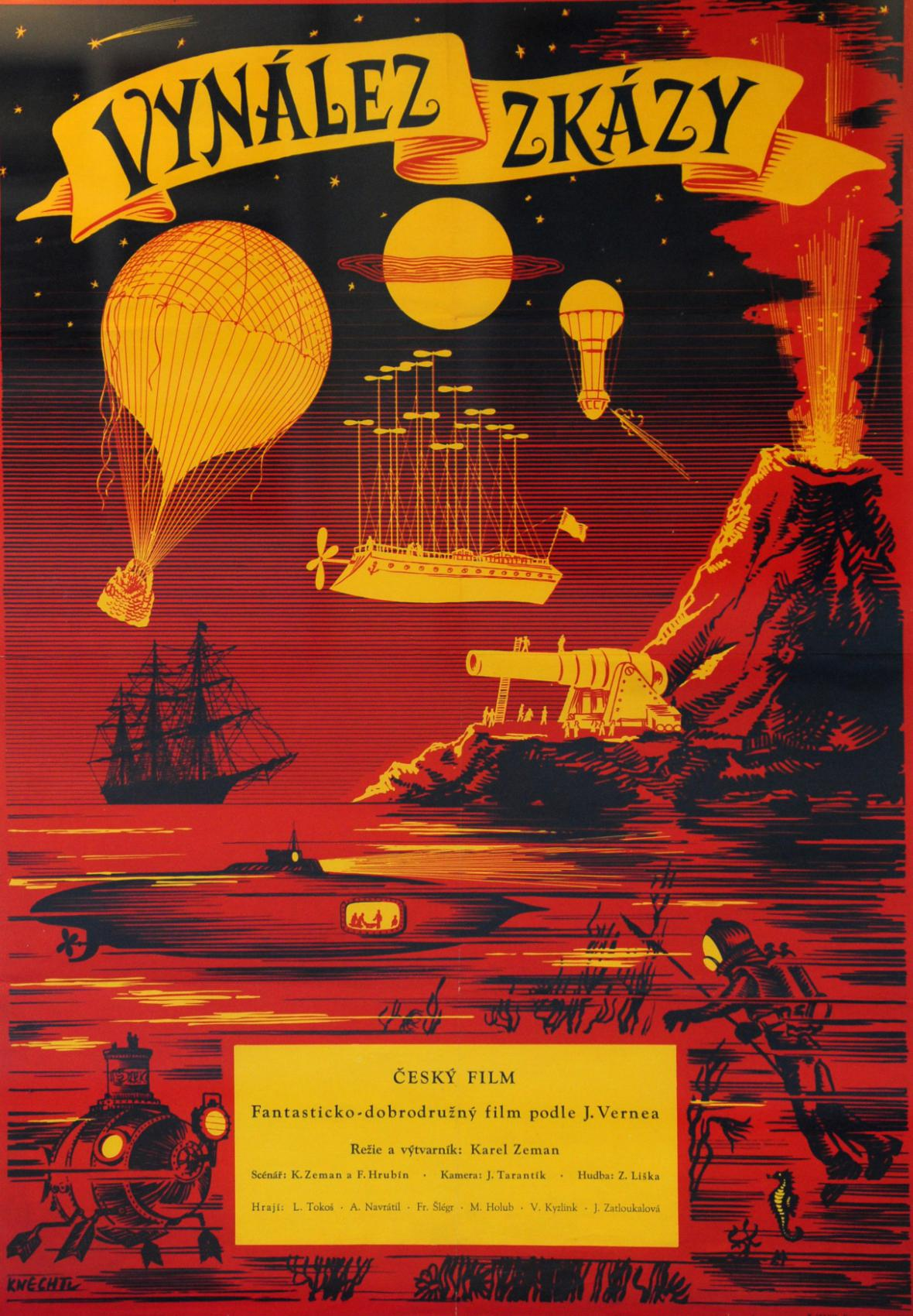 Plakát k filmu Vynález zkázy