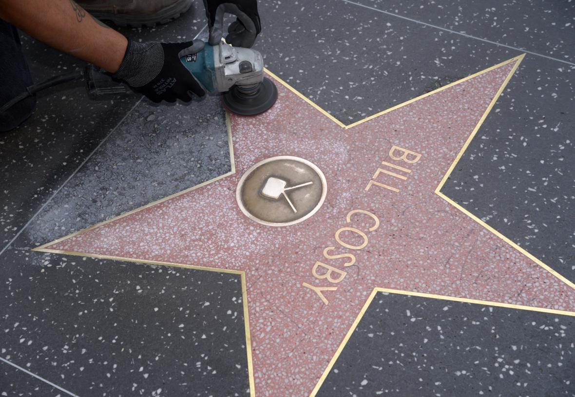 Hvězda Billa Cosbyho v Los Angeles