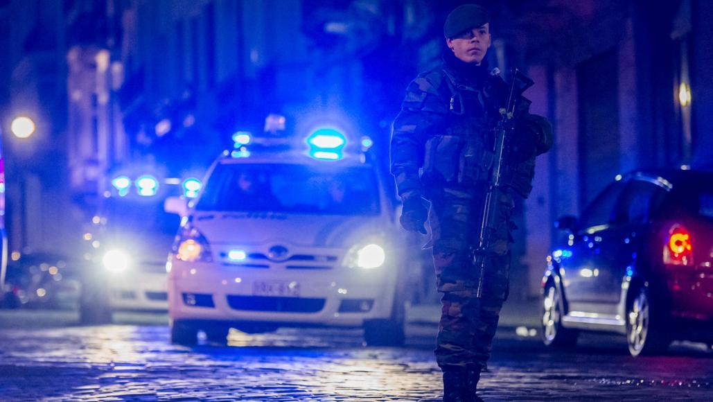 Policejní zásah ve Verviers