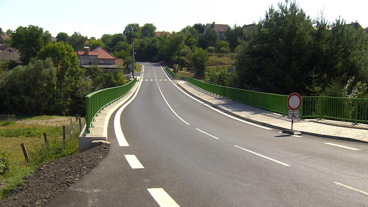 Nová silnice ve Vilémově