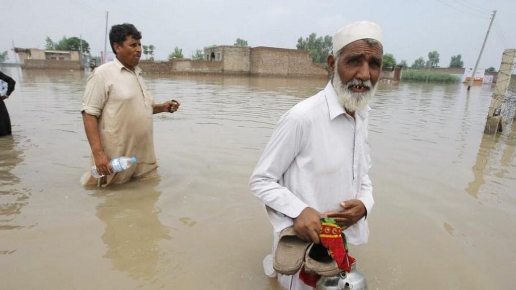 Rozsáhlé záplavy v Indii