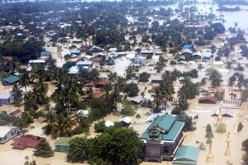 Záplavy v Barmě