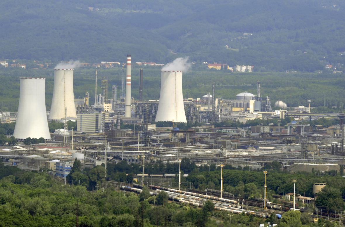 Chemička Unipetrol v Záluží u Litvínova