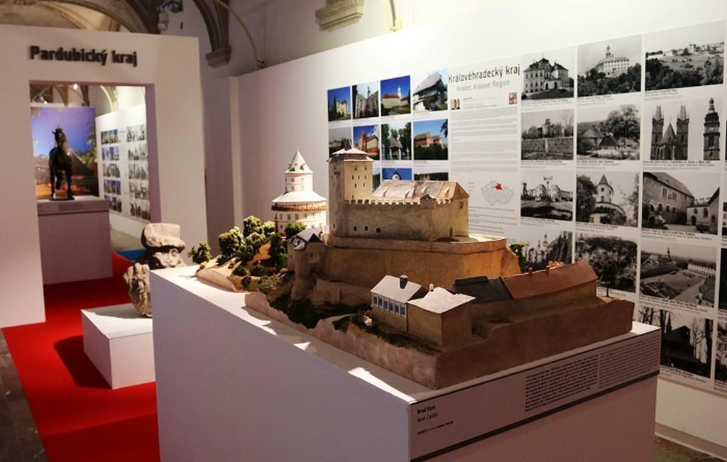 Pohled do expozice Architecture Week