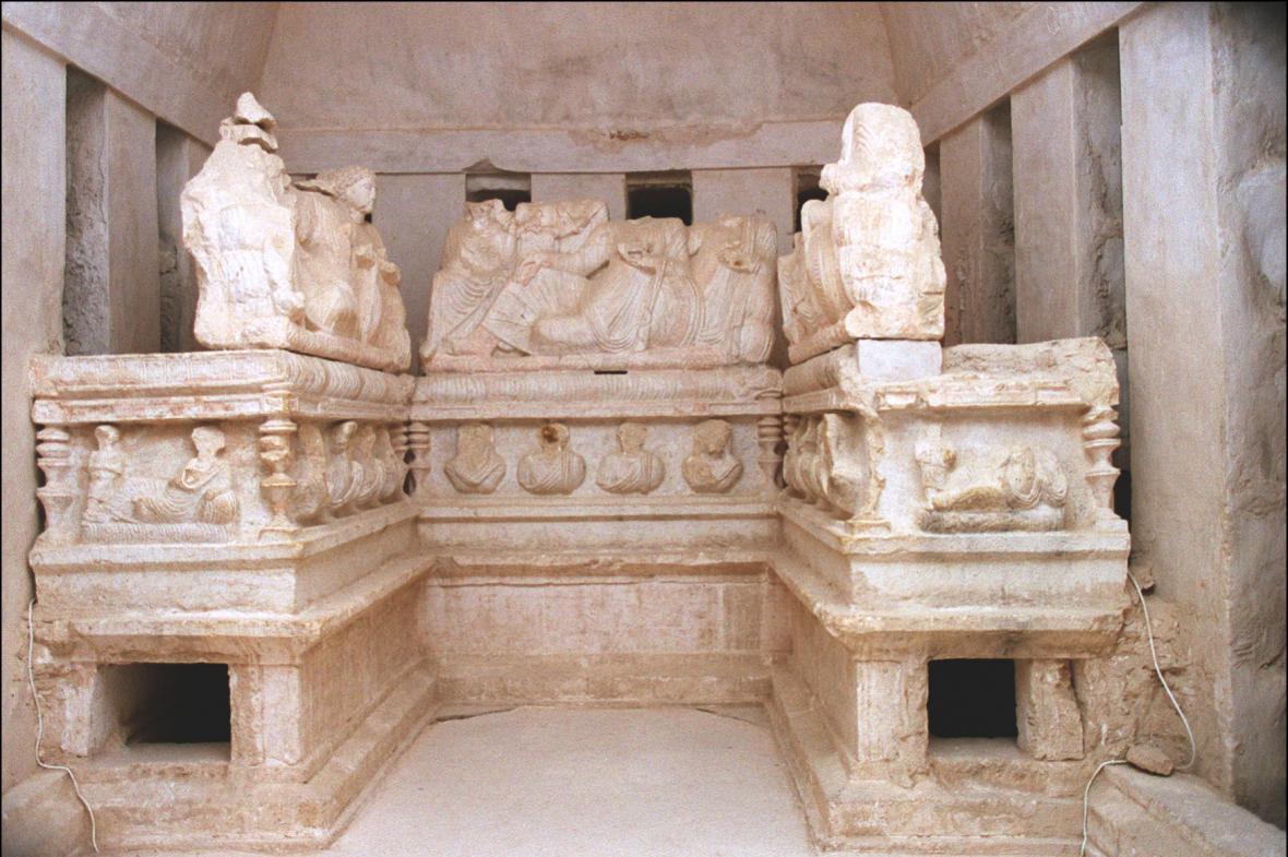 Památky v Palmýře