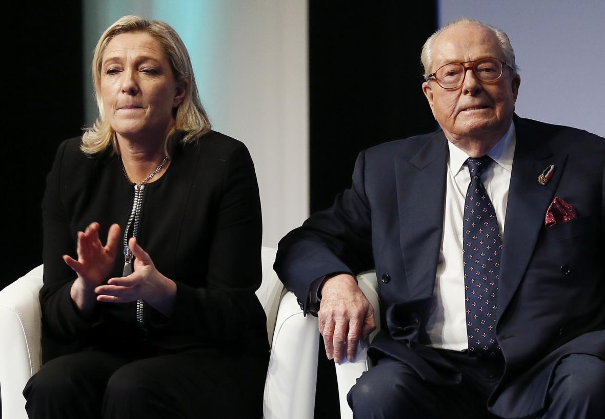 Marine a Jean-Marie Le Penovi