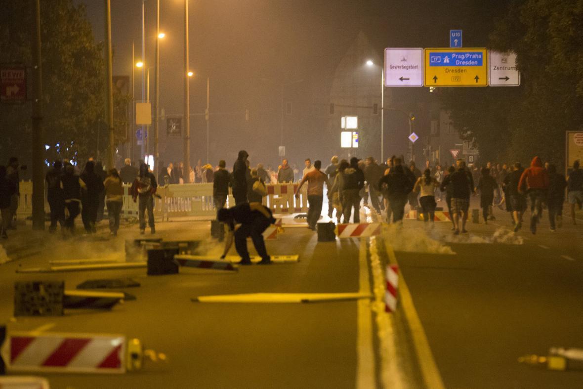 Nepokoje v Sasku