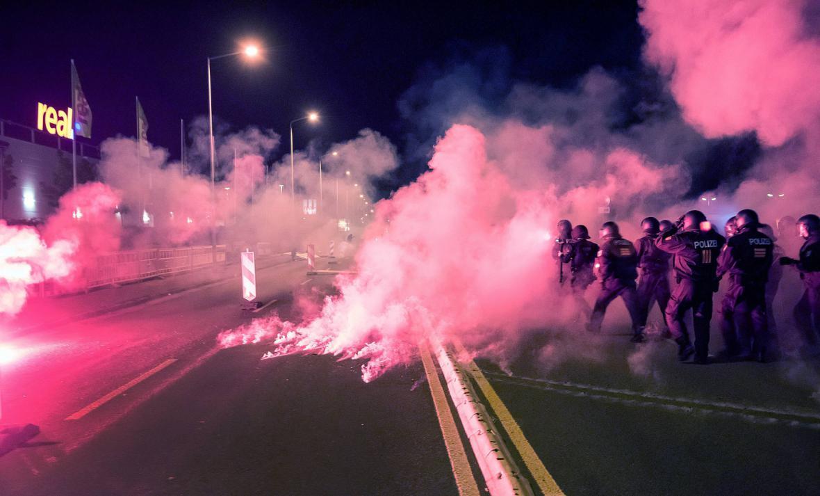 Nepokoje v Heidenau
