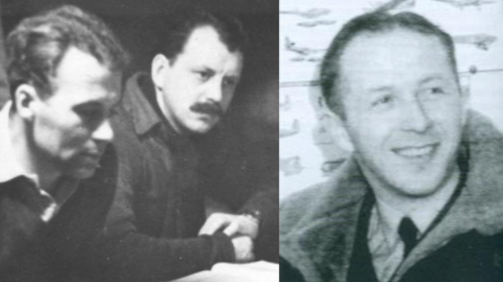 Čeští účastníci útěku z tábora Stalag Luft: Tonder, Valenta, Dvořák