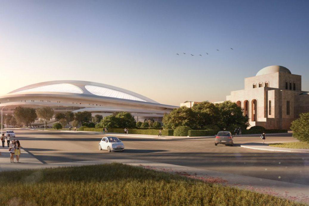Návrh olympijského stadionu