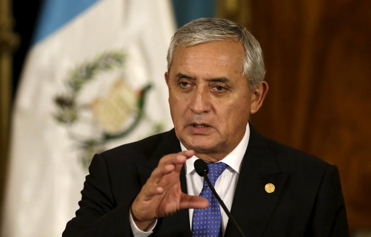 Prezident Guatemaly Otto Perez