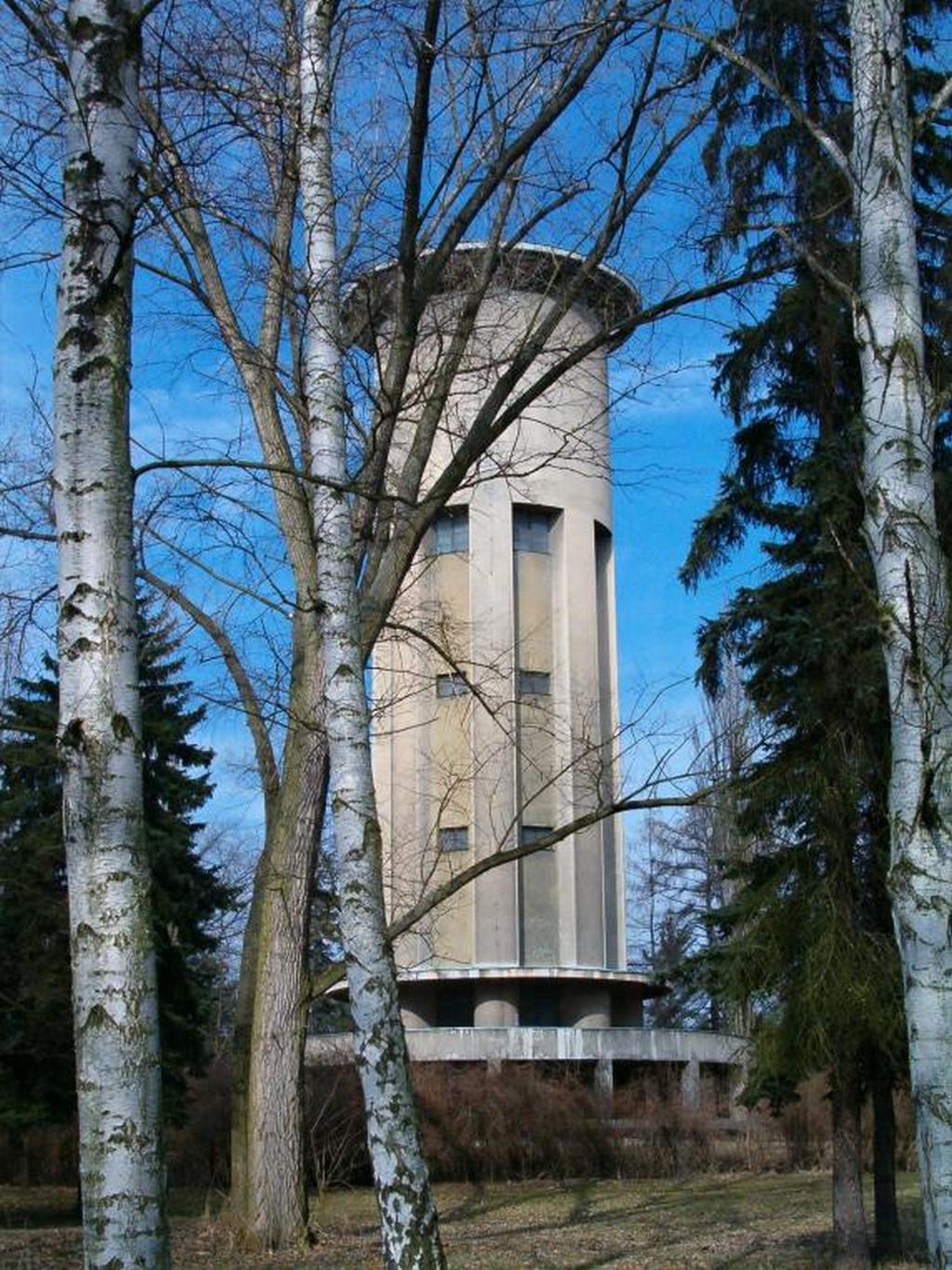 Vodárenská věž v Poděbradech
