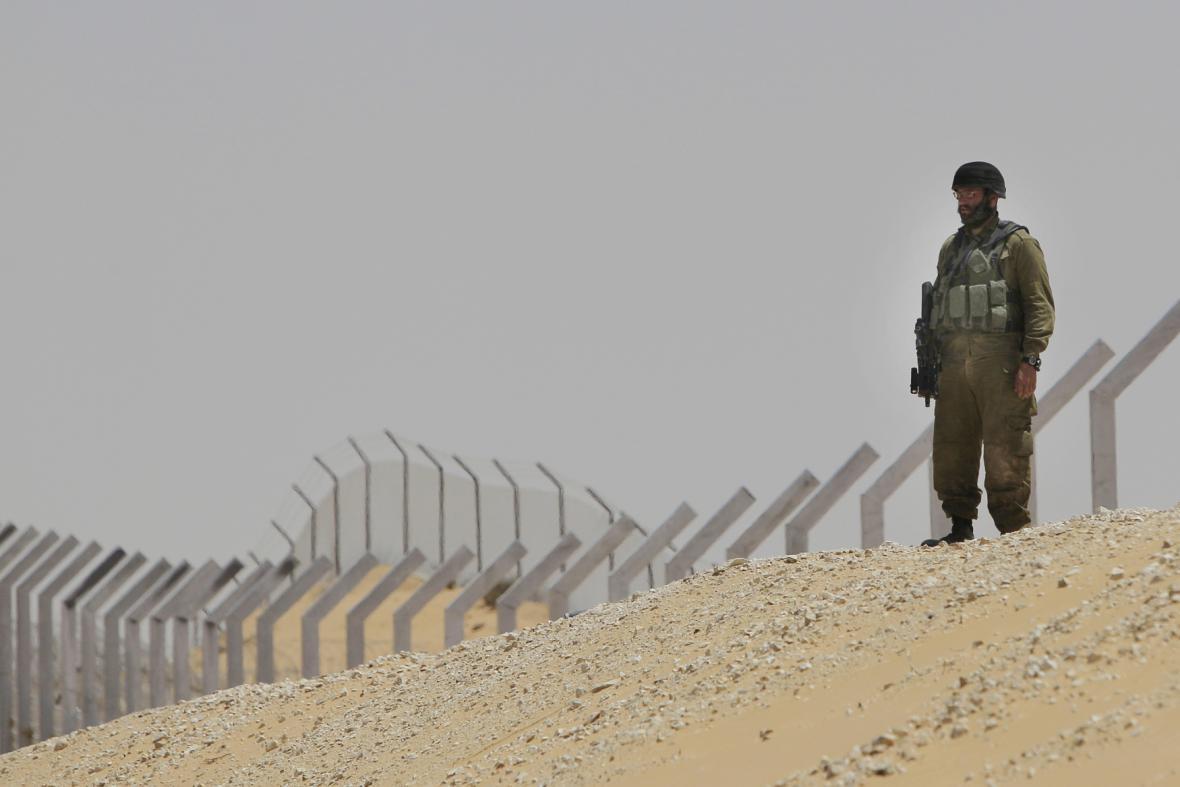 Vojáci na Sinaji