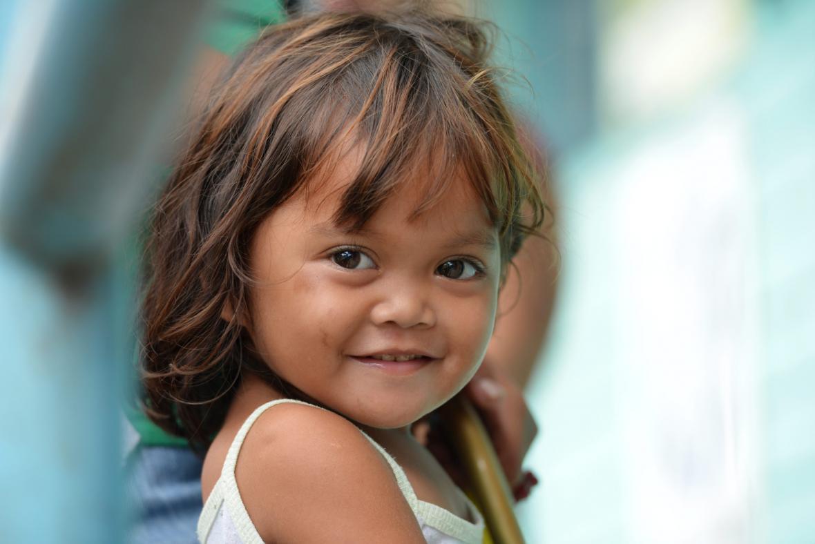 Filipínská holčička
