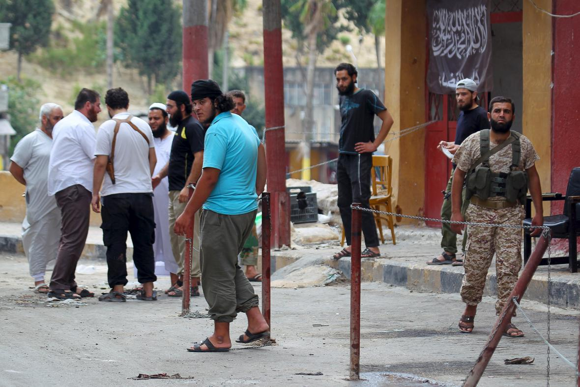 An-Nusra v provincii Idlib