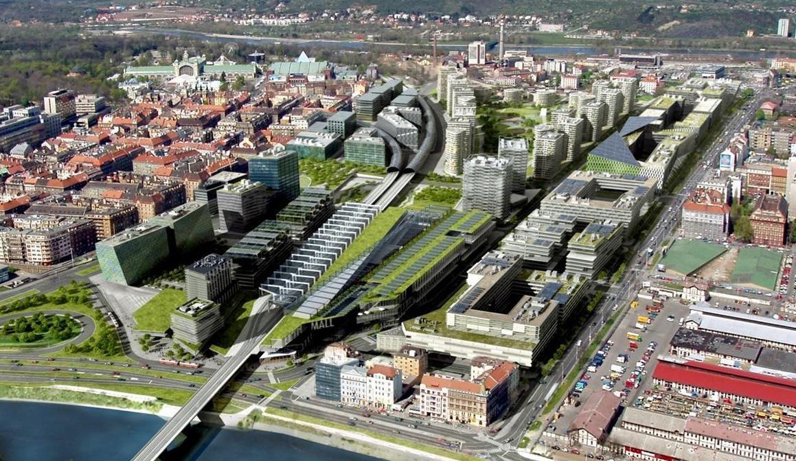 Plány na výstavbu v Bubnech