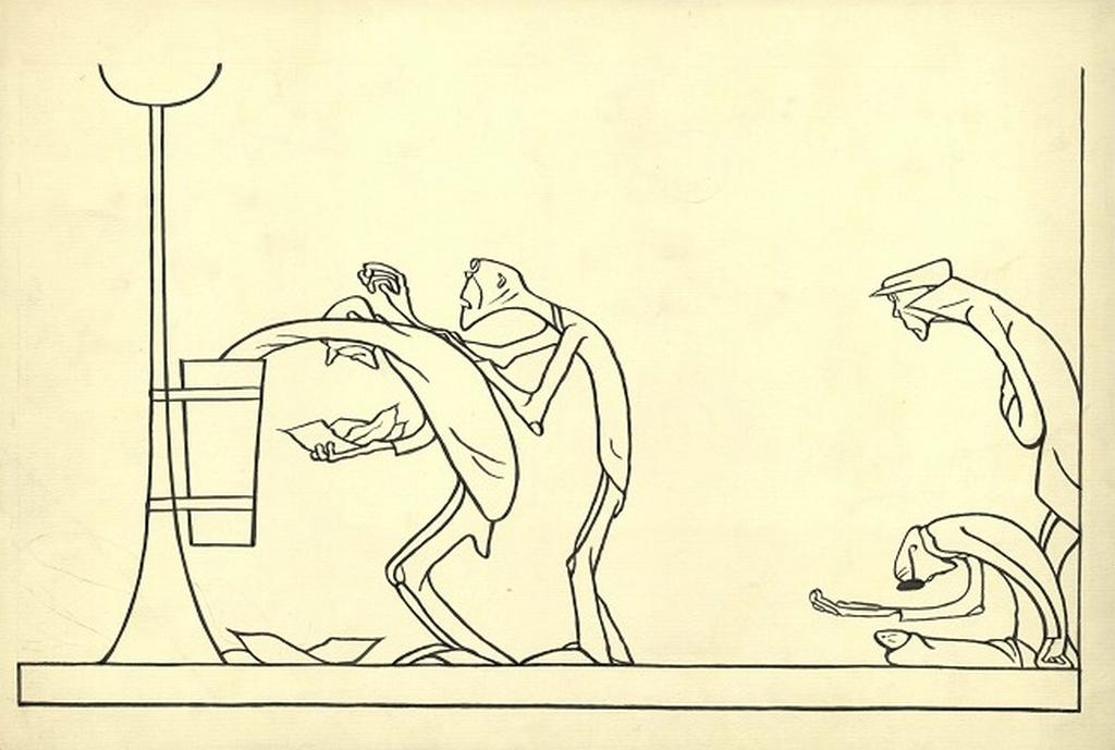 Karikatura Františka Bidla