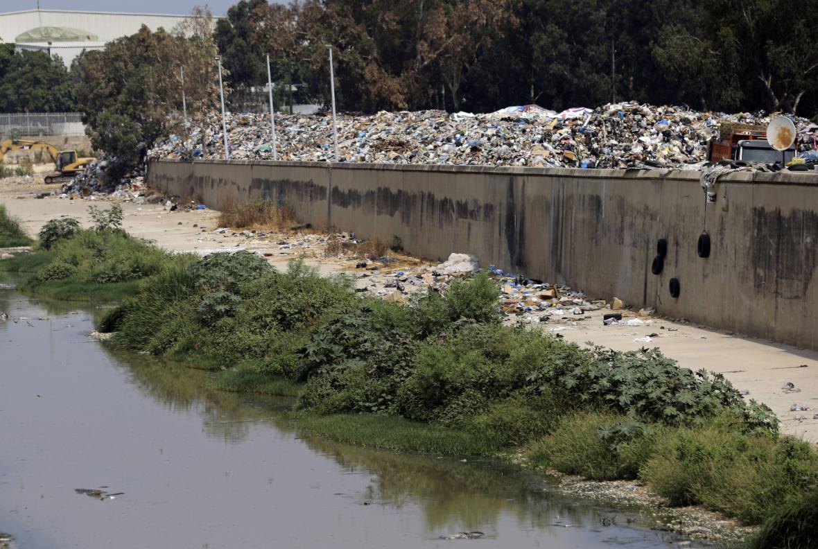 Odpadky v Bejrútu