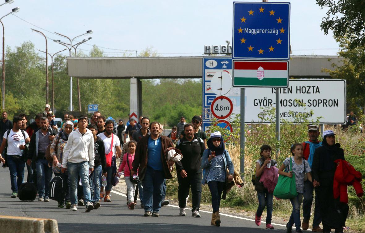 Uprchlíci v Maďarsku