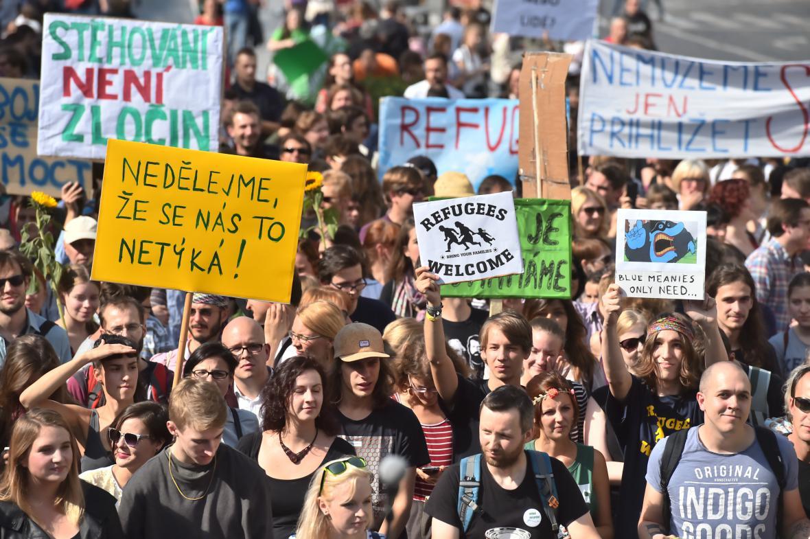 Odpůrci xenofobie