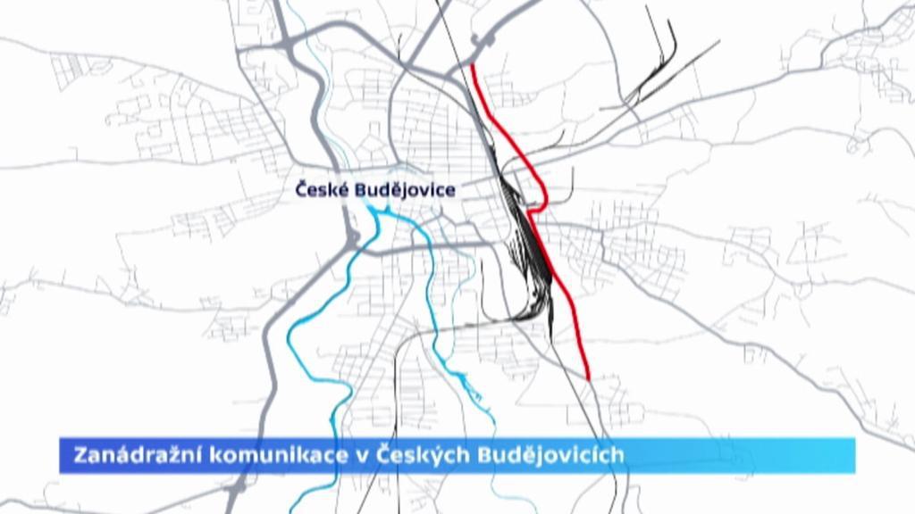 Zanádražní komunikace v Českých Budějovicích