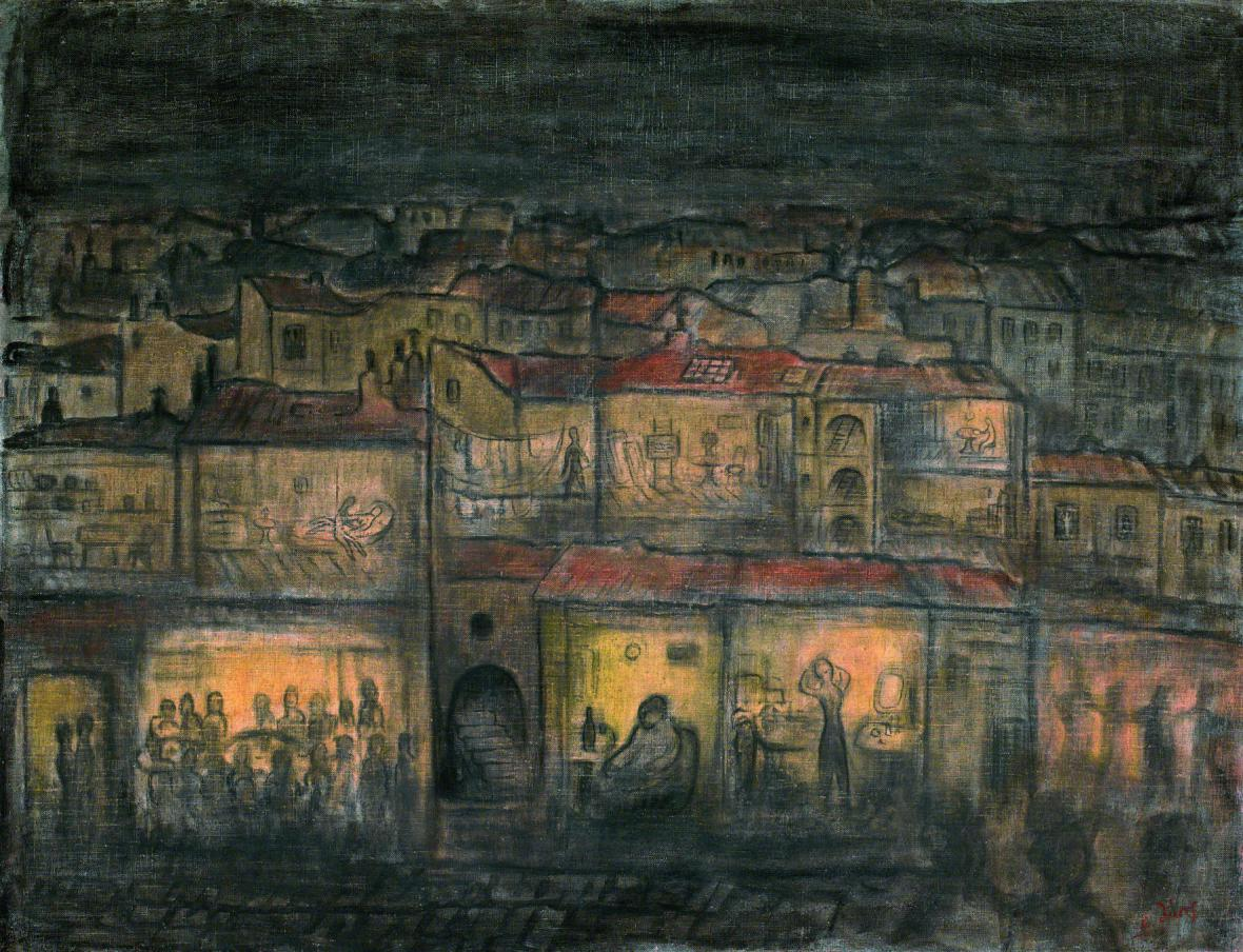 Alén Diviš / Pod střechami Paříže, 1942