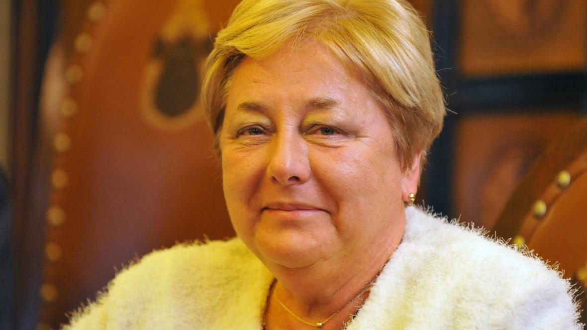 První náměstkyně Alena Rašková (ČSSD)