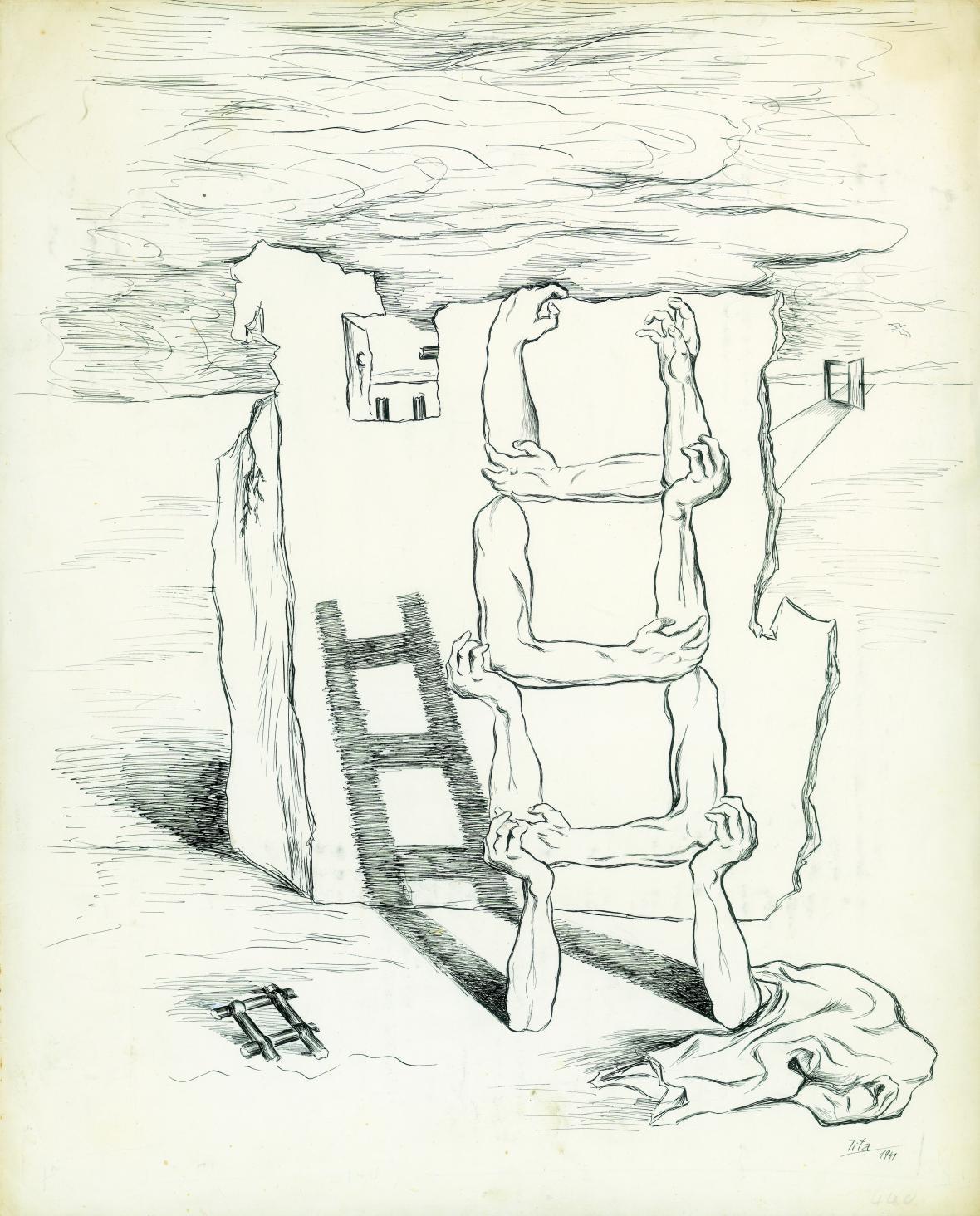 Tita (Edita Hirschová) / Stavitelé ruin, 1941