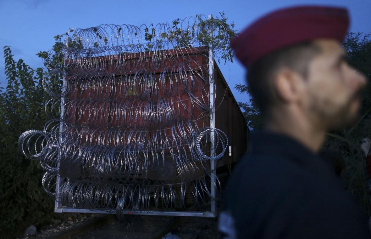 Plot na hranici Srbska a Maďarska