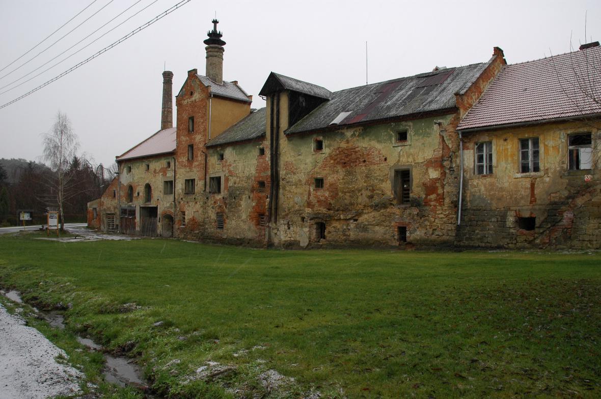 Pivovar v Lobči