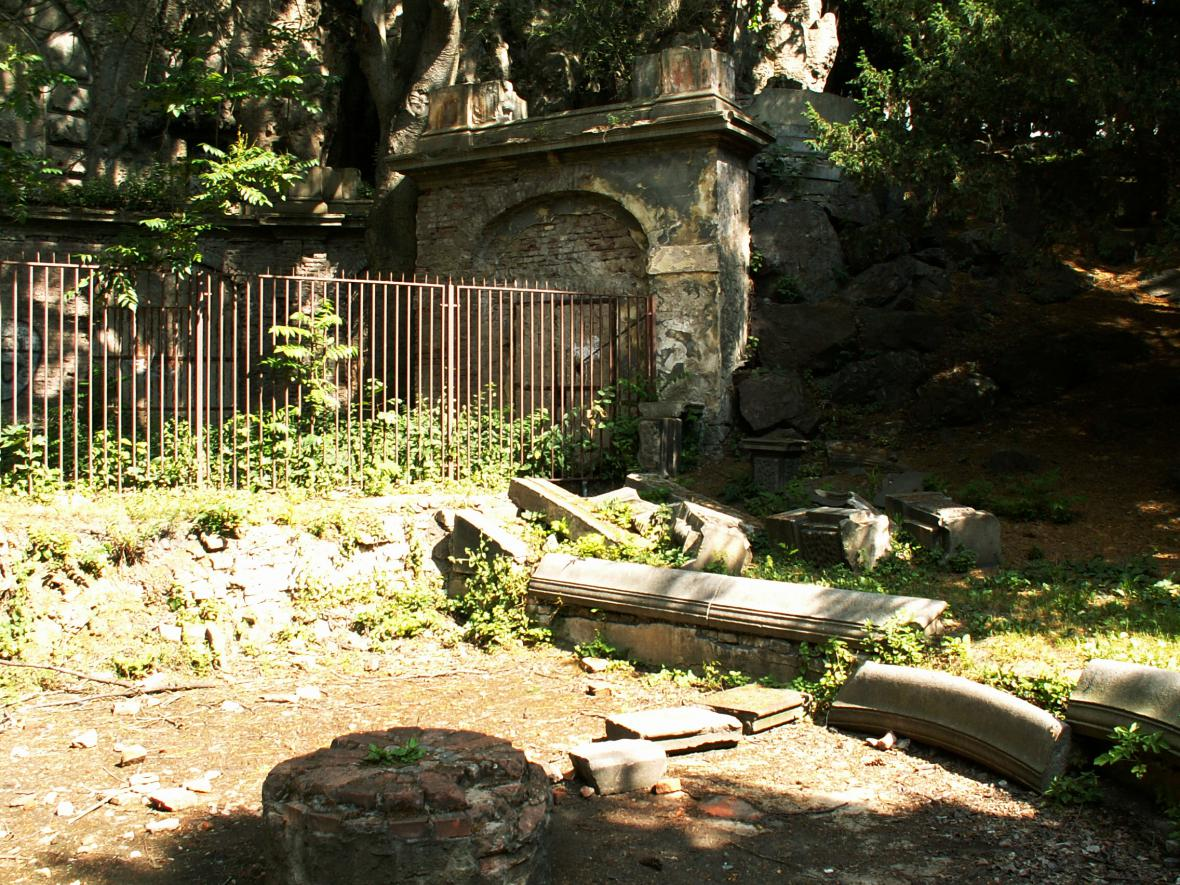 Grébovka před rekonstrukcí