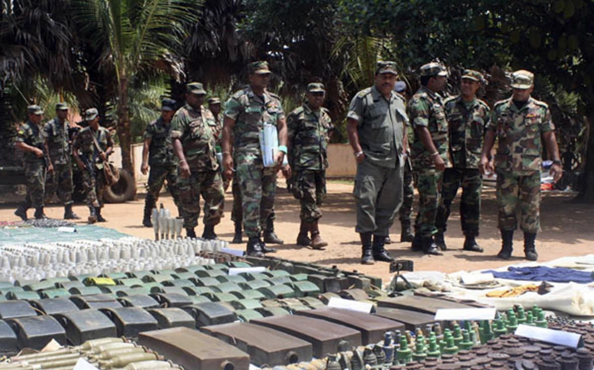 Tamilští ozbrojenci