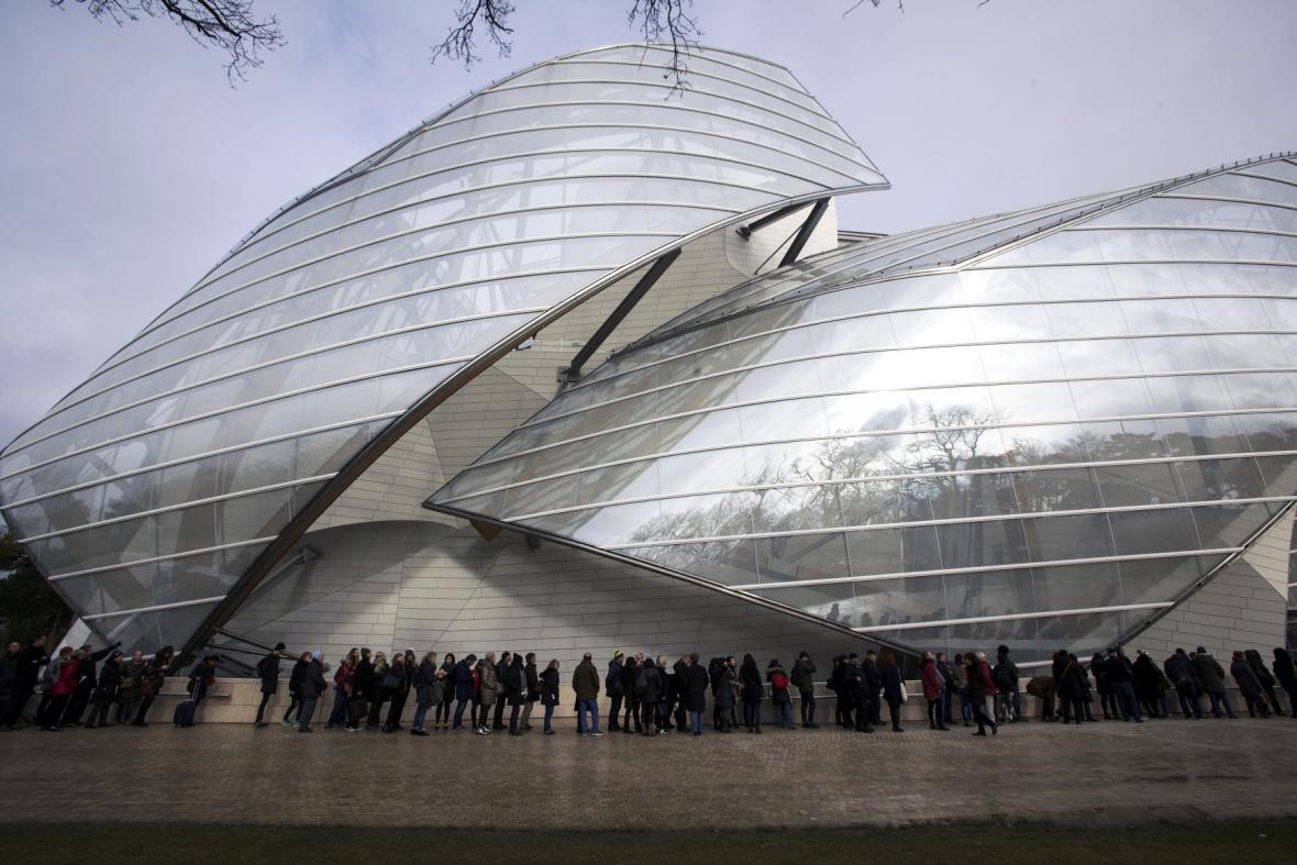 Galerie Louis Vuitton Foundation v Paříži